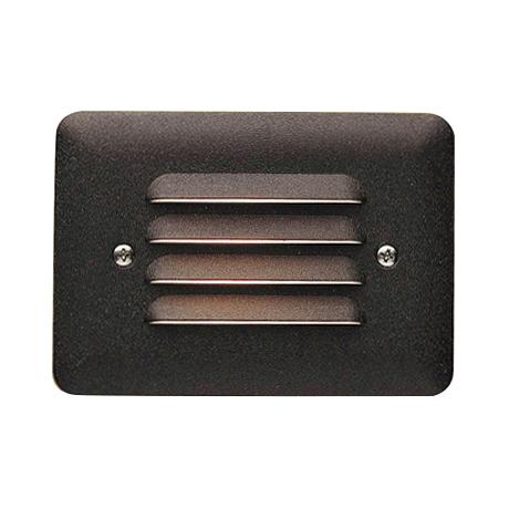 Kichler Architectural Bronze Louvered LED Step Light