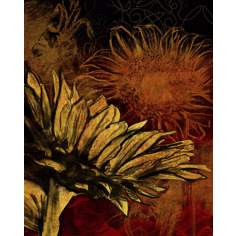 "Sunflower II Giclee 14"" High Canvas Wall Art"