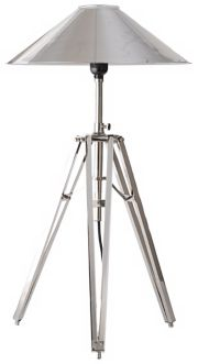 Tripod Metal Desk Lamp