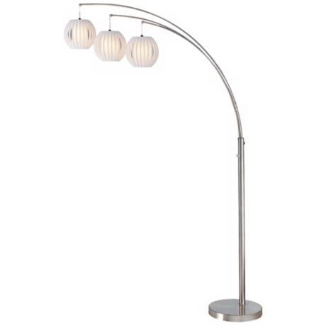 Lite Source Deion 3-Light Hanging Arc Floor Lamp