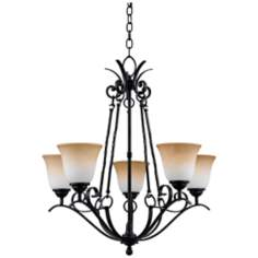 Jennifer Collection 5-Light Chandelier