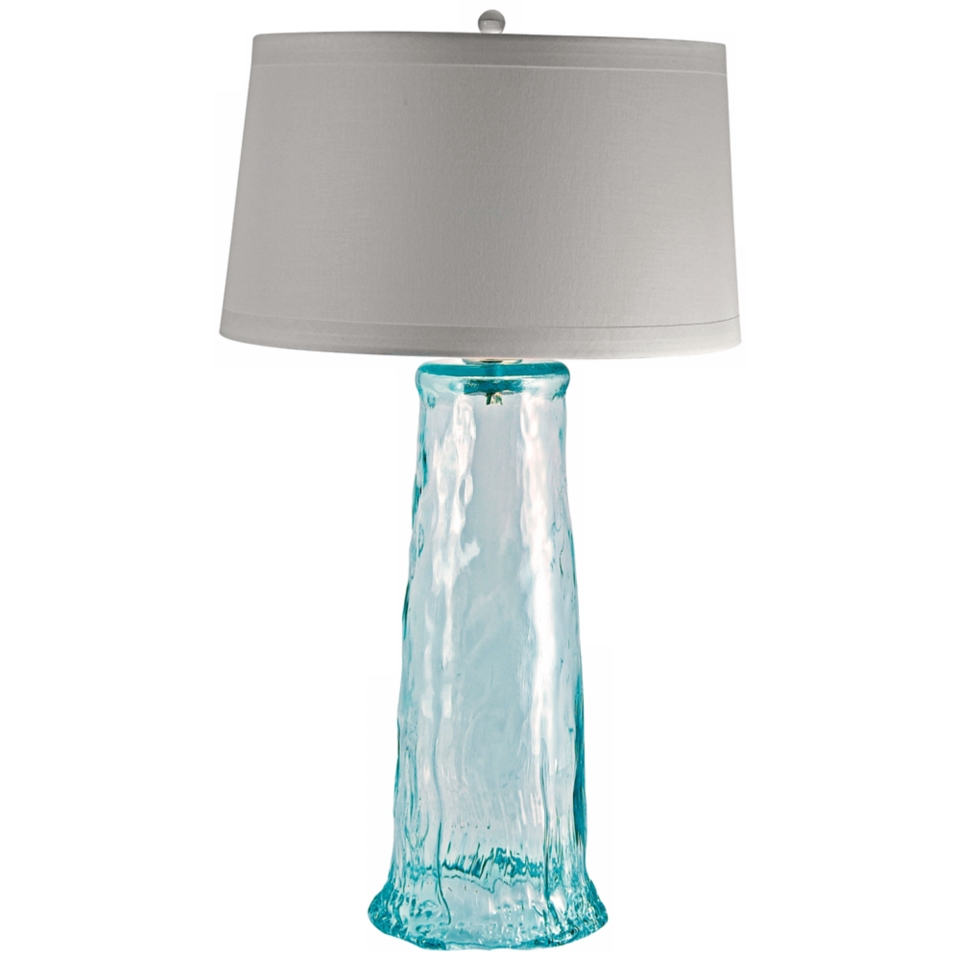 blue contemporary table lamps on popscreen