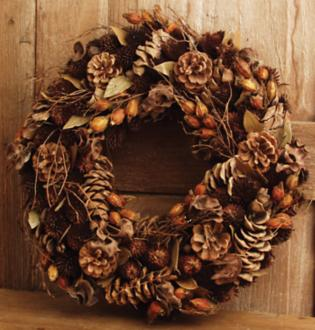 Fall Accent Wreath