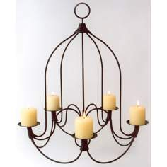 Durum Iron Chandelier