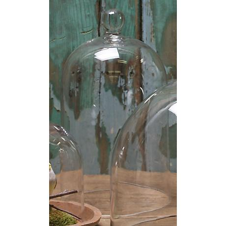 "Medium 13"" High Glass Dome"