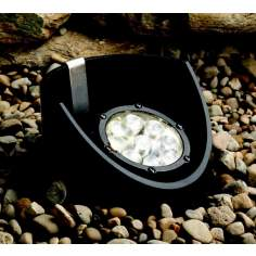 Kichler Black Finish LED Landscape Well Light