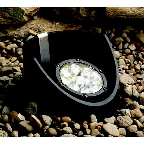 Kichler Black Finish 60-Degree LED Landscape Well Light