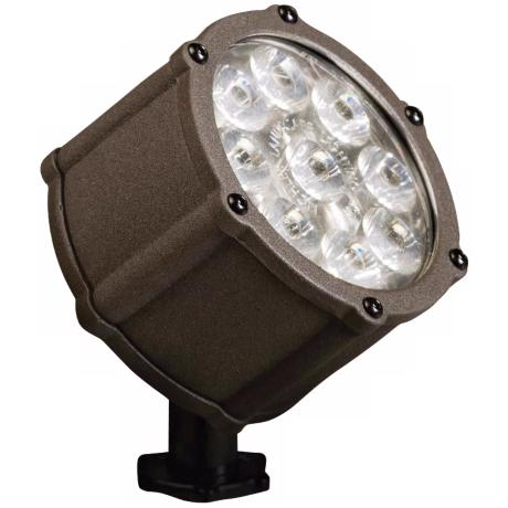 Kichler Bronze LED 10 Degree Landscape Spot Light