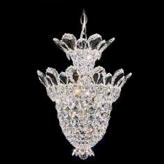 "Schonbek Trilliane Collection 12 1/2"" Crystal Foyer Pendant"
