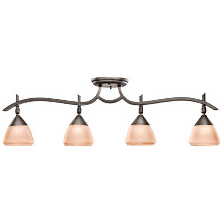 "Kichler Olympia Collection Bronze 32"" Wide Ceiling Fixture"