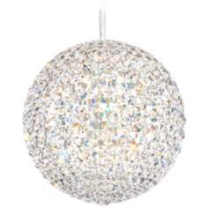 "Schonbek Da Vinci Collection 12"" LED Crystal Pendant Light"