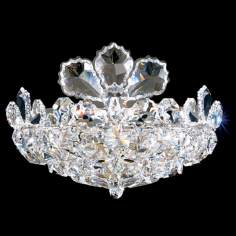 "Schonbek Trilliane Collection 8 1/2"" High Crystal Sconce"