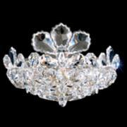 "Schonbek Trilliane 8 1/2"" High Swarovski Crystal Sconce"