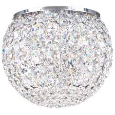 "Schonbek Da Vinci Collection 8"" Wide Crystal Ceiling Light"