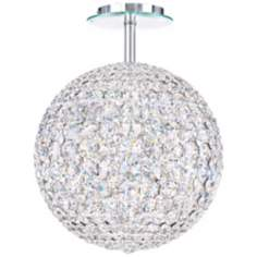 "Schonbek Da Vinci Collection 12"" Wide Crystal Ceiling Light"