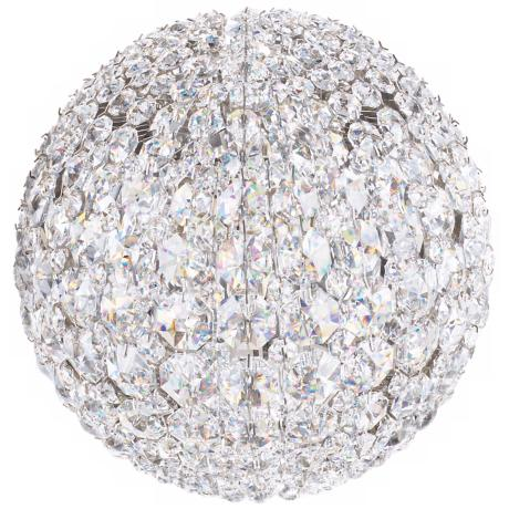 "Schonbek Da Vinci Collection 8"" High Crystal Wall Sconce"