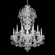 "Schonbek Olde World Collection 30"" Wide Crystal Chandelier"