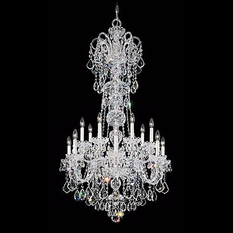 Schonbek Olde World Collection 14-Light Crystal Chandelier