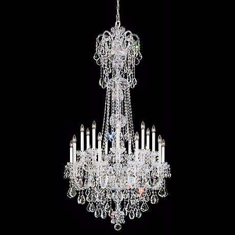 Schonbek Olde World 23-Light Large Crystal Chandelier