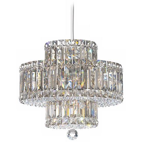 Schonbek Plaza 9-Light Swarovski Crystal Pendant Chandelier