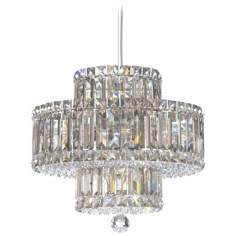 Schonbek Plaza Collection 9-Light Crystal Pendant Chandelier