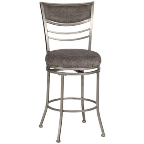 "Hillsdale Amherst Swivel 24"" High Counter Stool"