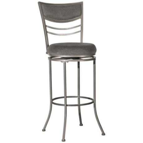 "Hillsdale Amherst Swivel 30"" High Bar Stool"