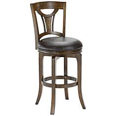"Hillsdale Cannes Swivel  24"" High Counter Stool"
