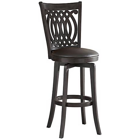 "Hillsdale Van Draus Swivel 24"" High Counter Stool"