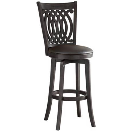 "Hillsdale Van Draus Swivel 30"" High Bar Stool"
