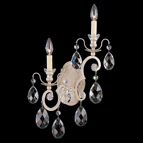 "Schonbek Renaissance Collection 14"" Right Crystal Sconce"