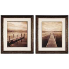 Set of 2 North Sky Prints I and II Wall Art