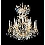 "Schonbek Renaissance Collection 32"" Wide Crystal Chandelier"
