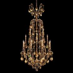 "Schonbek Renaissance Collection 28"" Wide Crystal Chandelier"