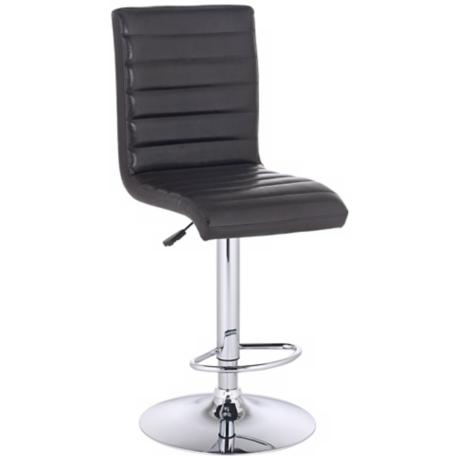 Scribbler Espresso Adjustable Bar Stool or Counter Stool