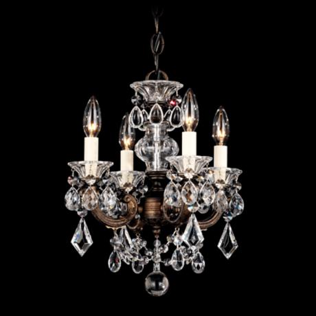 Schonbek La Scala Collection Crystal Mini Chandelier