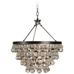 Robert Abbey Bling Collection Convertible Bronze Chandelier