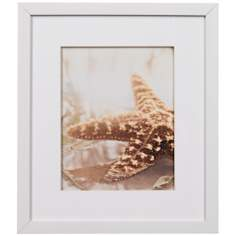 "Seashore I Framed 15 1/4"" High Wall Art"