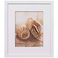 "Seashore II Framed 15 1/4"" High Wall Art"