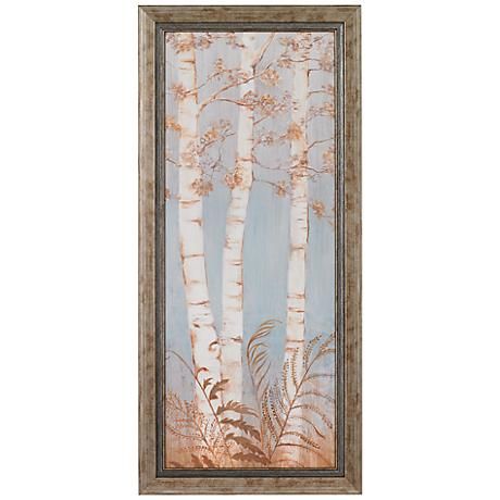 "Birch Woods Framed 33 1/4"" High Wall Art"