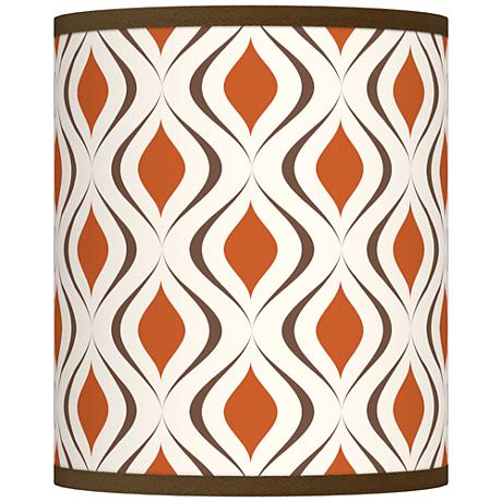 Retro Lattice Giclee Shade 10x10x12 (Spider)