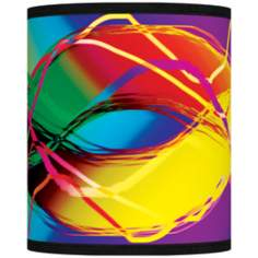 Colors in Motion Giclee Shade 10x10x12 (Spider)