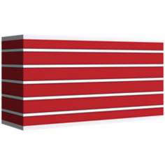 Bold Red Stripe Giclee Shade 8/17x8/17x10 (Spider)