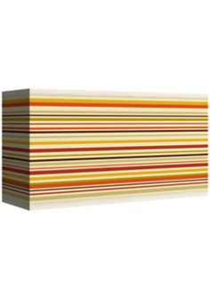 Stacy Garcia Lemongrass Stripe Giclee Shade 8/17x8/17x10 (Spider)