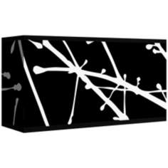 Stacy Garcia Calligraphy Tree Black Shade 8/17x8/17x10 (Spider)