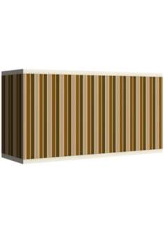 Umber Stripes Giclee Shade 8/17x8/17x10 (Spider)