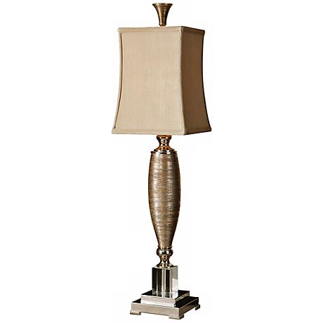 Uttermost Abriella Metallic Gold and Porcelain Table Lamp