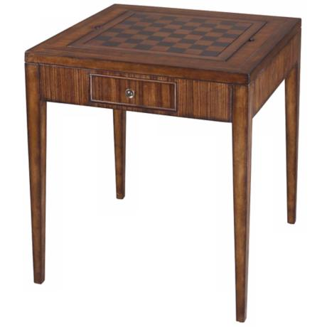 Uttermost Eli Game Table - #N4204 | LampsPlus.