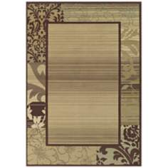 Tremont Collection Everglades Chocolate Area Rug