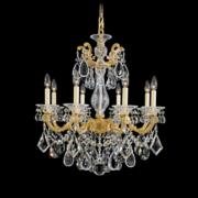 Schonbek La Scala Collection 8-Light Crystal Chandelier